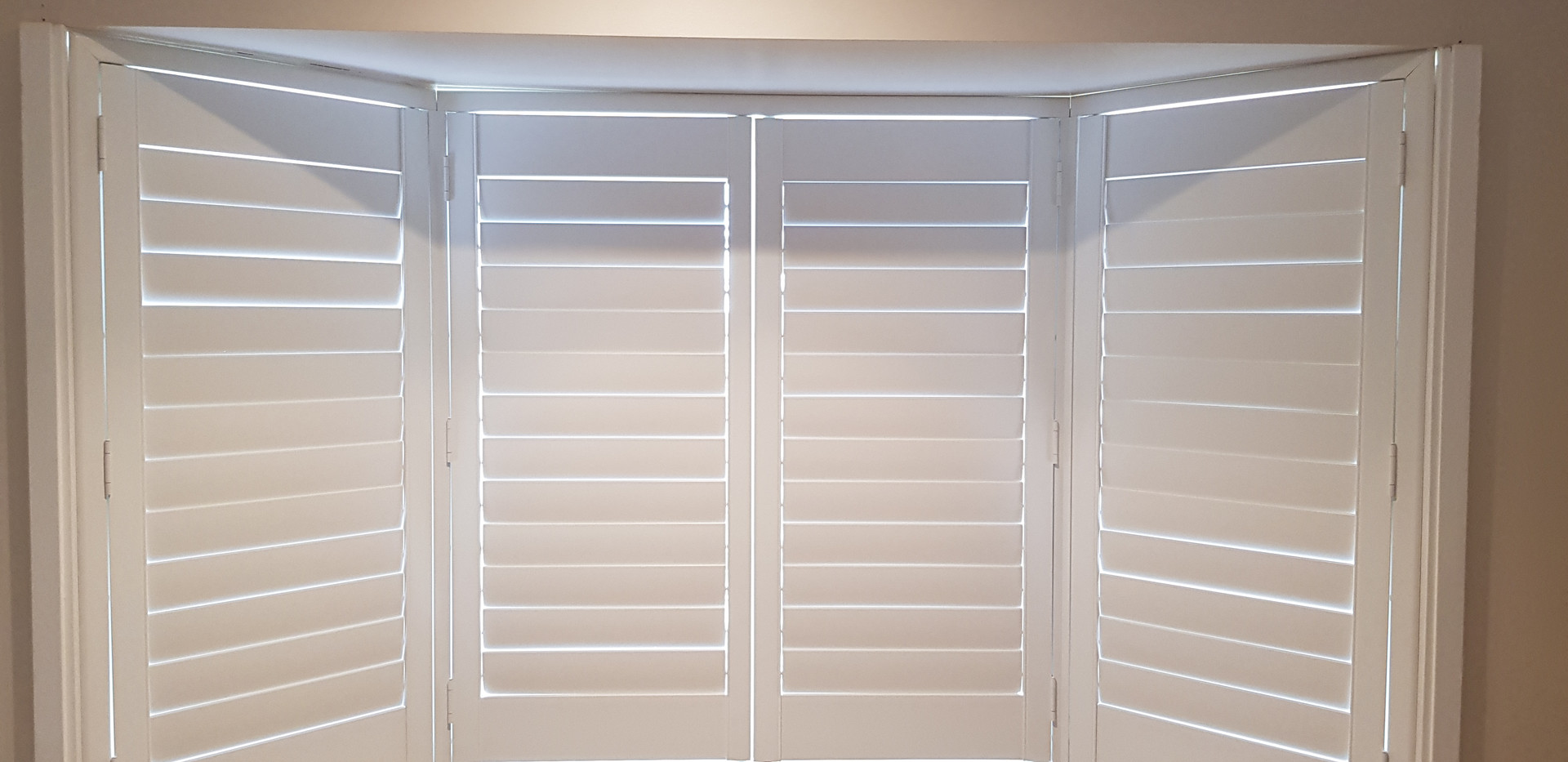 Plantation Shutters - to Bay Window