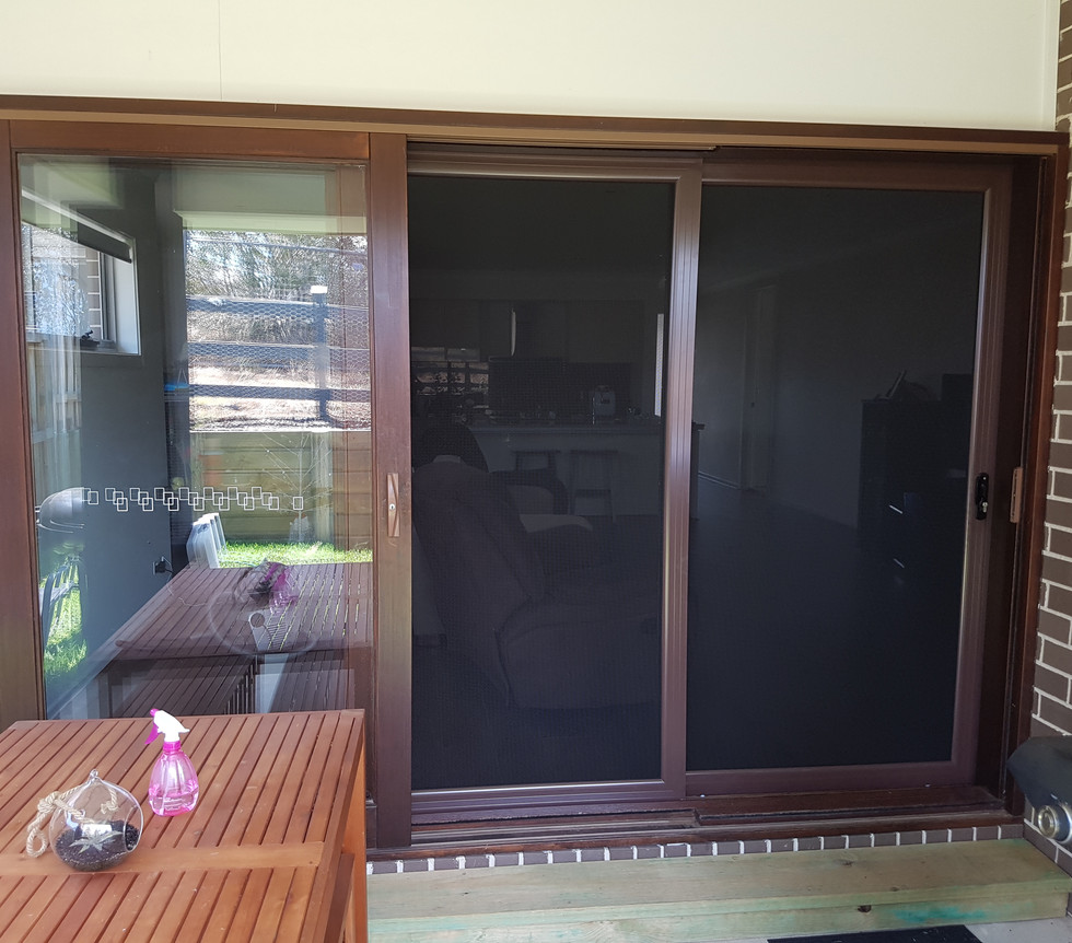 Panther Protect Sliding Stacker Security Doors