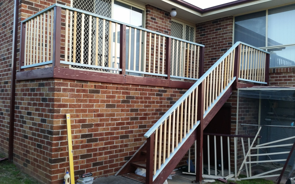 Timber Balustrade (Handrailing)