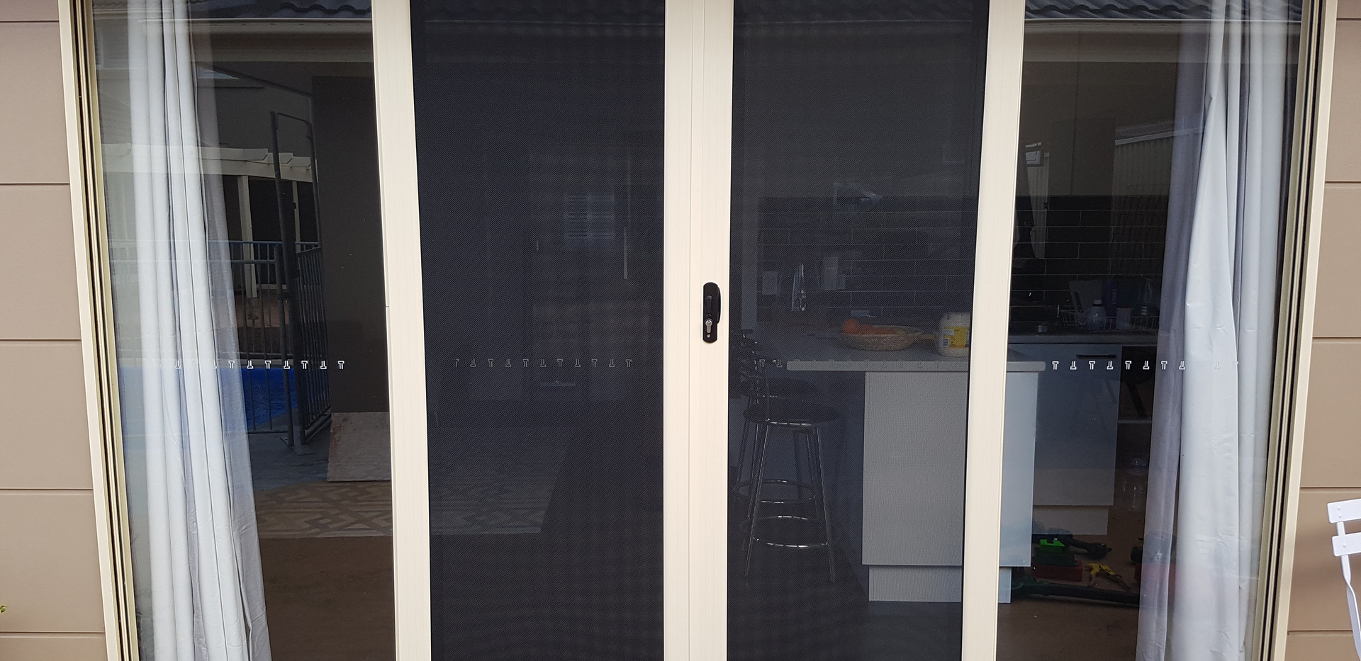 Panther Protect French Sliding Security Doors