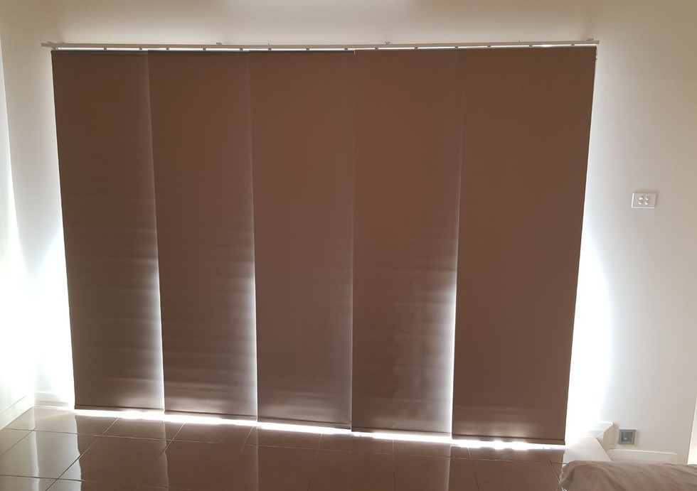 Panel Glides to Stacker Doors