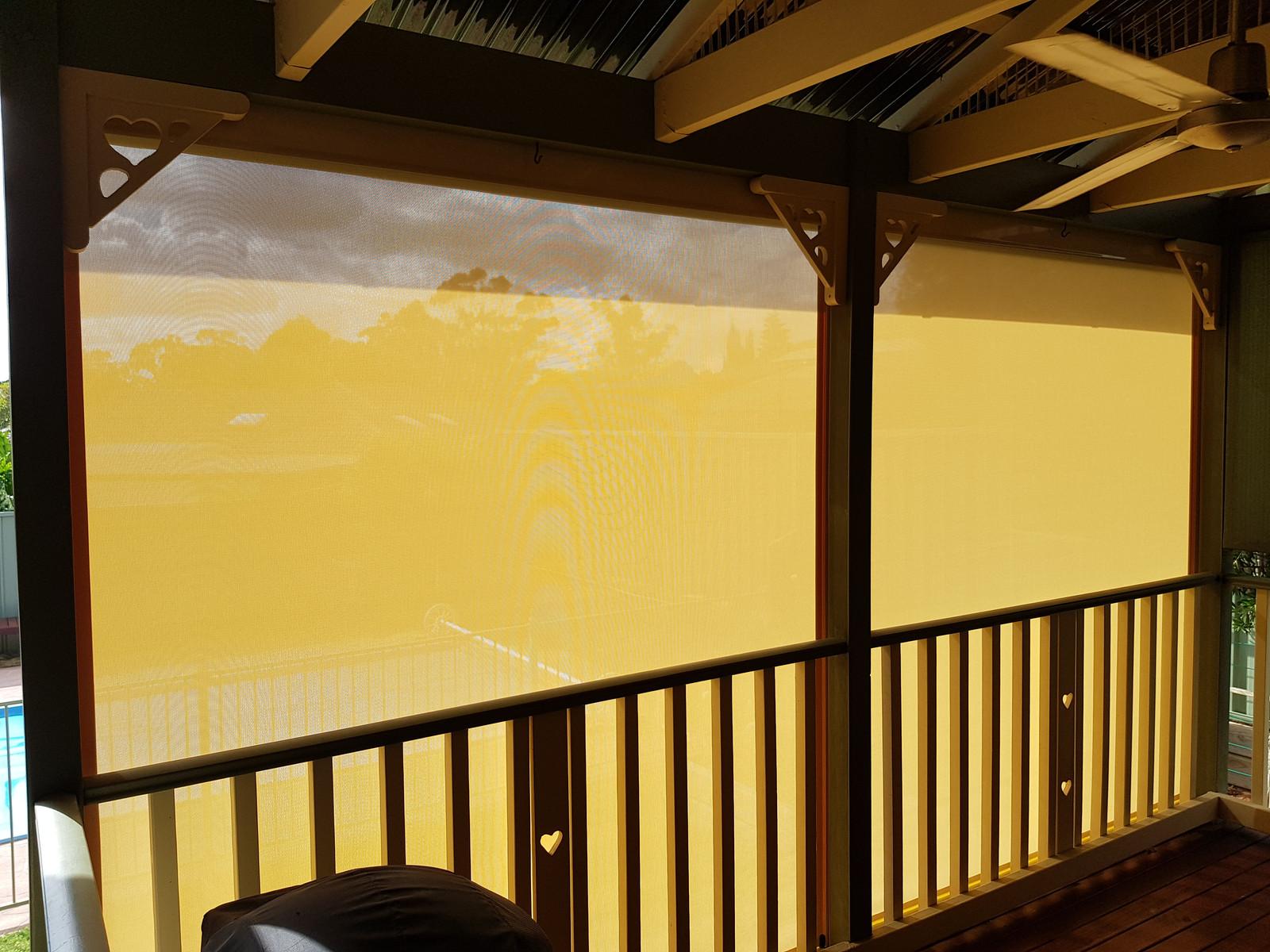 Ziptrak Outdoor Blinds Awnings Better Security Doors
