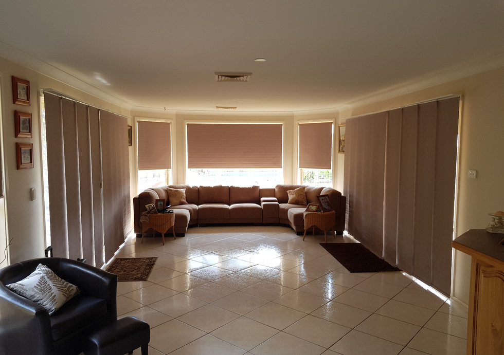 Roller Blinds and Panel Glides