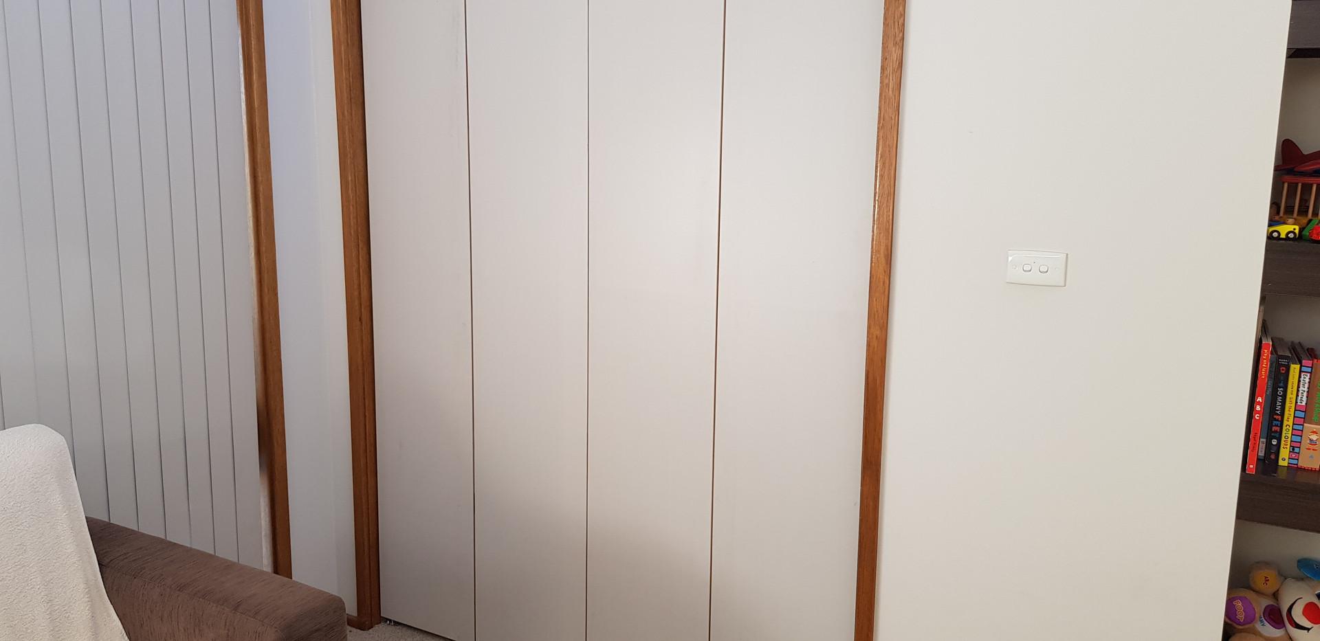 Plain BiFold Doors