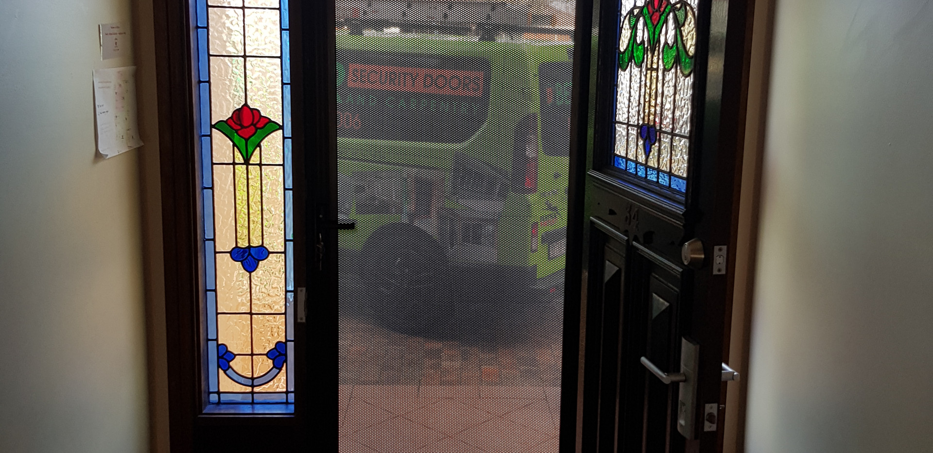 Vision Gard Hinged Security Door