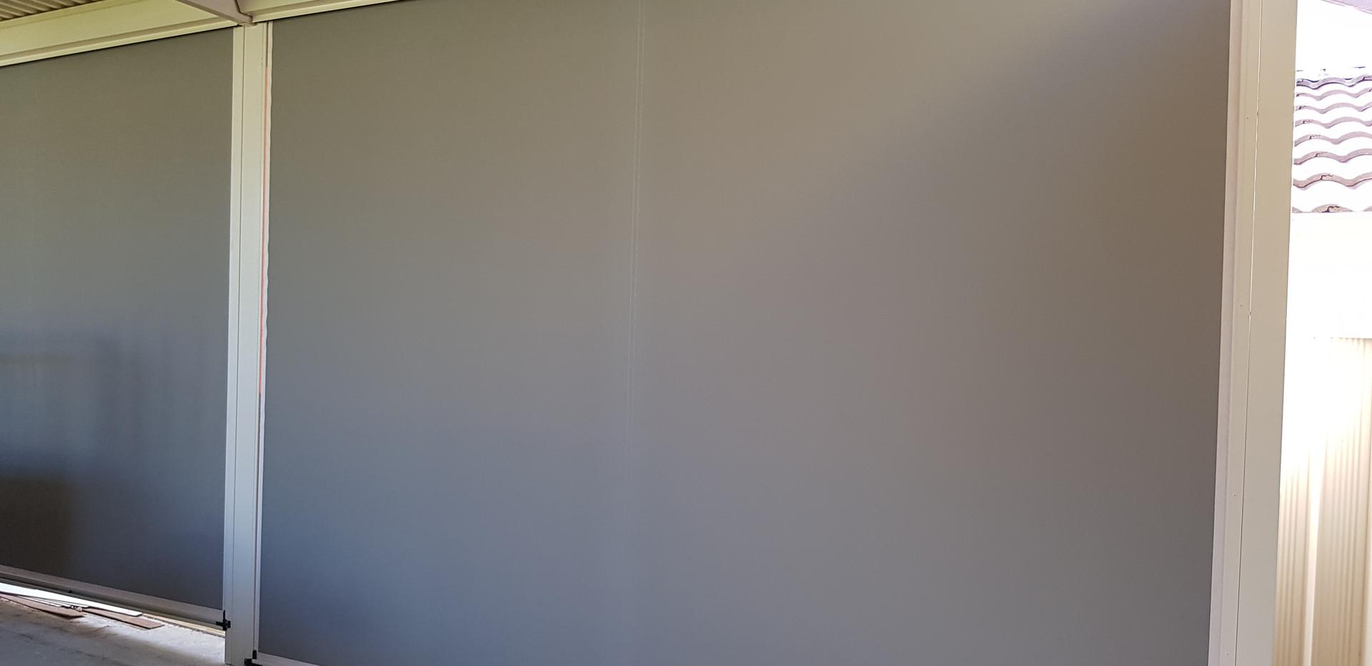 Ziptrack - Blockout Canvas Fabric