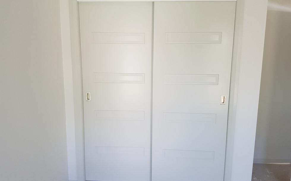 Timber Wardrobe Sliding Doors