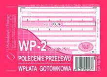 Polecenie Przelewu A6 80 kartek   dr 049