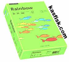 Papier xero kolor Rainbow blado-ziel.  ppk300