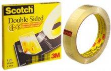 Taśma Scotch® dwustr. klejąca 19mm x 33m  tak044