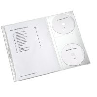 Koszulki na dokumenty i CD, LEITZ Combo    obk045