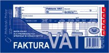 Faktura VAT (wzór pełn-netto) 1/3 A4 80 k. drk223