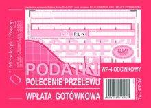 Podatki Polecenie Przelewu A6 80 k.  drk084