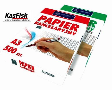 Papier kancelar.A3 kratka(500) INTERDRUK   pp 569