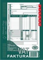 Faktura VAT (wzór upro-brutto) A5 80 k. dr drk050