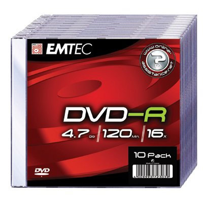 Płyta  DVD+R 4.7GB x19 Slim Jawel Case      xck026