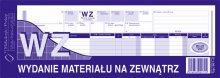 WZ wydanie mat. na zew.1/2 A4 80 kartek    dr 044