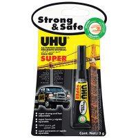 Klej Strong&Safe UHU 3 g blister   klk069