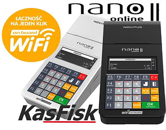 Kasa fiskalna online Nano II Warszawa.jp