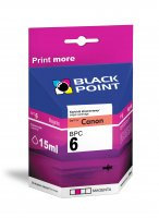 BLACK POINT Wkład CANON BCI-6M Magent 15ml  xtk053