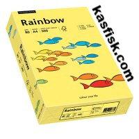 Papier xero kolorowy Rainbow żółty  ppk152