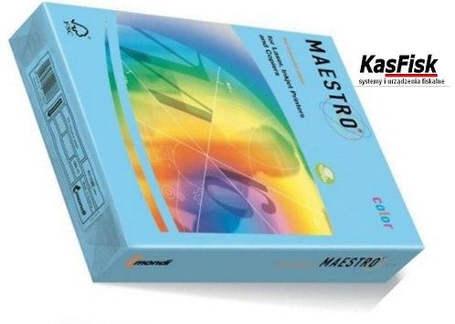 Papier xero MAESTRO COLOR A4 80 błękit arkt ppk250