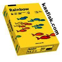 Papier xero kol. Rainbow ciemno żółty  ppk157