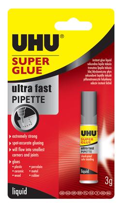 Klej UHU Super Glue 3g    klk090
