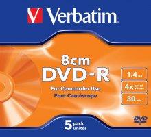 Płyta mini DVD-R jewel case 1.4GB 4x hard    xc278