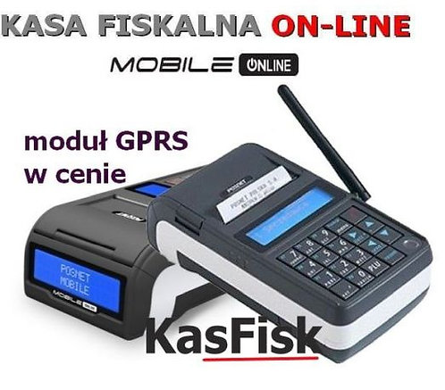 Kasa fiskalna MOBILE online GPRS