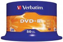 Płyta VERBATIM DVD-R cake box 50 4.7GB 16x  xck035