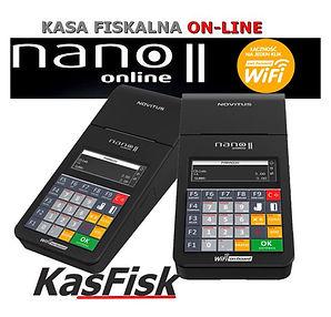 kasy fiskalne warszawa online Nano II wa