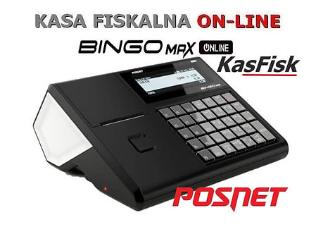 Kasa fiskalna online Bingo MAX Posnet