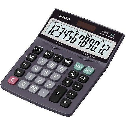 Kalkulator CASIO D-120S-S 12p               kkk060