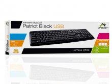 Klawiatura TRK-115 USB czarna PATRIOT  xak183
