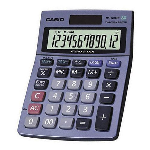 Kalkulator CASIO MS-120TER 12p              kkk001