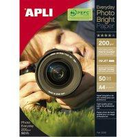 Papier Foto APLI A4 błyszcz. (glossy)50  xpk136