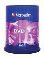Płyta DVD+R cake box 100 4.7GB 16x Matt Sil xck074