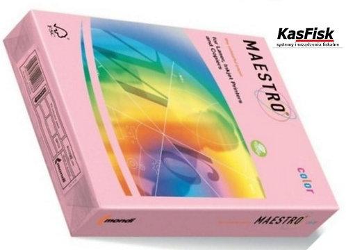 Papier xero MAESTRO COLOR A4 80 różowy ppk247
