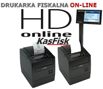 DRUKARKA FISKALNA ONLINE HD NOVITUS