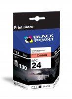BLACK POINT Wkład CANON BCI-24BK Czarny 9   xtk021