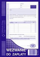 Wezwanie Do Zapłaty A5 80 kartek  dr 232