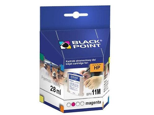 BLACK POINT Wkład do HP 11M  Magenta 28ml   xgk064