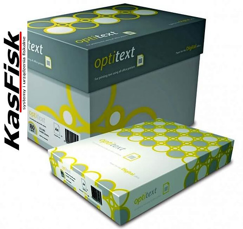 Papier xero OPTITEXT A4 80g   ppk130