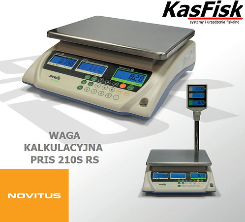 Waga kalkulacyjna PRIS-210S RS