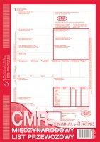 CMR międzynarodowy list przew.A4 80 kart. drk235