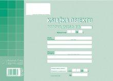 Książka obiektu budowl.A4 zeszyt 76 str.  drk232