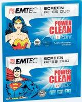 Chusteczki do ekranu LCD/CRT EMTEC    xs 189
