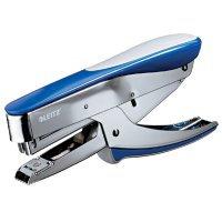 Zszywacz nożycowy, met. niebieski 15 k. zsk190