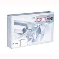 Zszywki NOVUS 24/6 DIN-opak.1000 szt.  zsk212